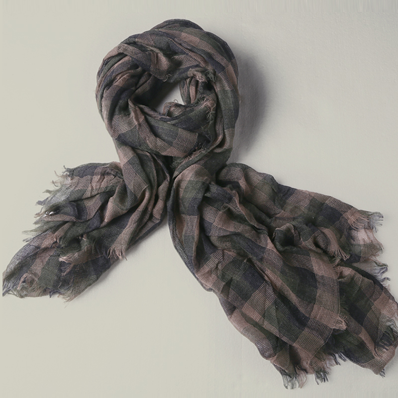 Helpful 2017 New England Style Winter Cotton Tassel Plaid Scarf All-match Man Warm Fashion Design Women And Men Scarf With Tassel W249 As Effectively As A Fairy Does Apparel Accessories