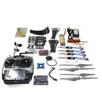 F14892 C DIY RC Drone Quadrocopter RTF X4M360L Frame Kit with GPS APM 2.8 AT9 TX