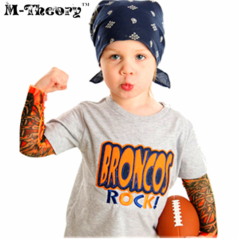 M-theory 1pcs Kid Size Sleeve Arm Tattoos Stockings Leggings Henna 3D Temporary Body Art Biker Rocker Makeup Tools