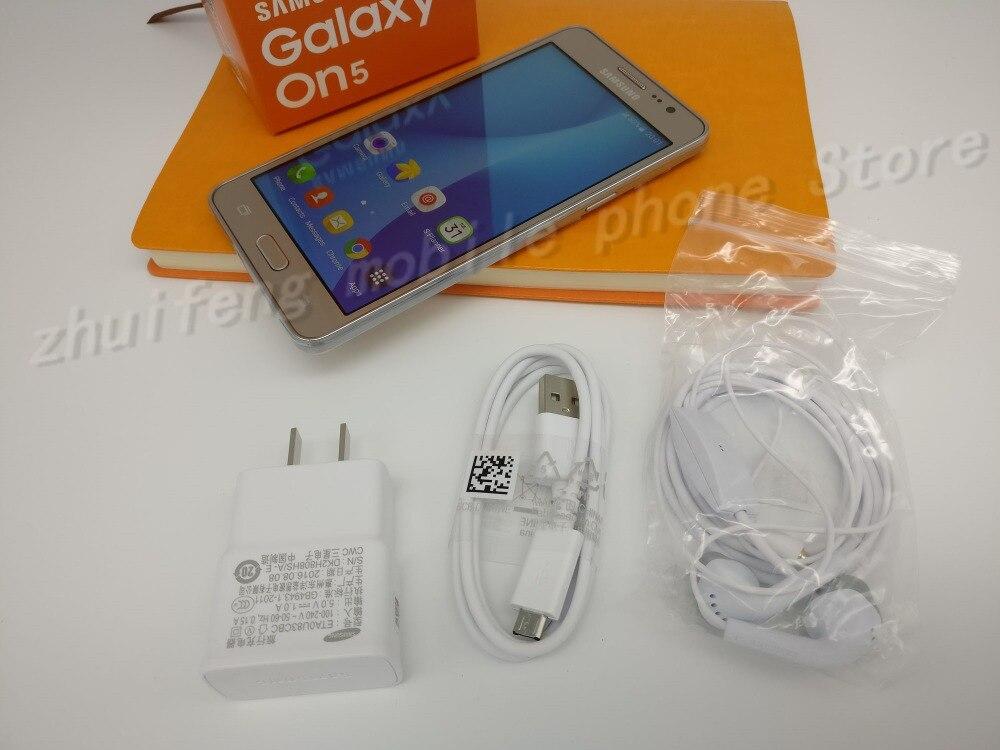 Original Samsung Galaxy On5 G5500 8GB ROM 4G LTE Mobiltelefon 8MP - Mobiltelefoner - Foto 6