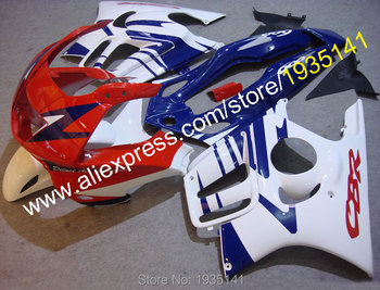 For Honda CBR600 F3 97-98 CBR 600 F3 1997-1998 CBR 600F3 Red Blue White New Motorcycle Fairing (Injection molding)