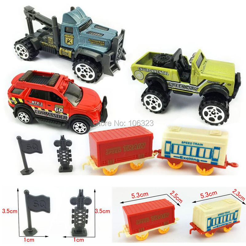 Diecast Simulation Car,Children Vehicle Model Toy Set 1:64 Farmer ...
