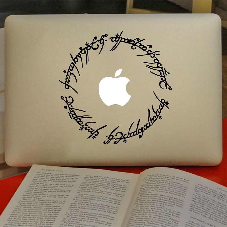 8 Elvish Circle Decal Inspired By The Lord of The Rings Laptop Sticker Decor