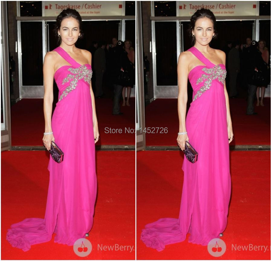 Sexy Camilla Belle Red Carpet dress Long Formal Evening Red Carpet ...