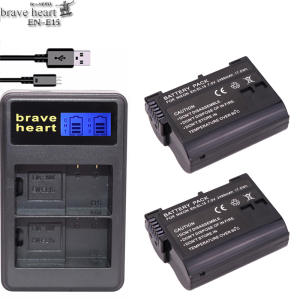 brave heart EL15 ENEL15 EN-EL15 Battery pack for Nikon D500 D600 D610 D750 D7000
