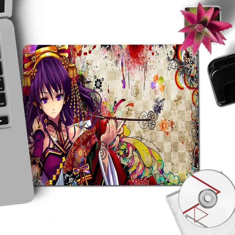 Yinuoda красочные яркие девушки аниме геймер скорость мыши розничная продажа резиновый коврик для мыши большой игровой коврик для мыши Коврик для мыши