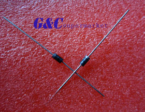 100PCS UF4007 DIODE Fast Recovery Diodes 1000V 1A DO-41 MIC NEW GOOD QUALITY