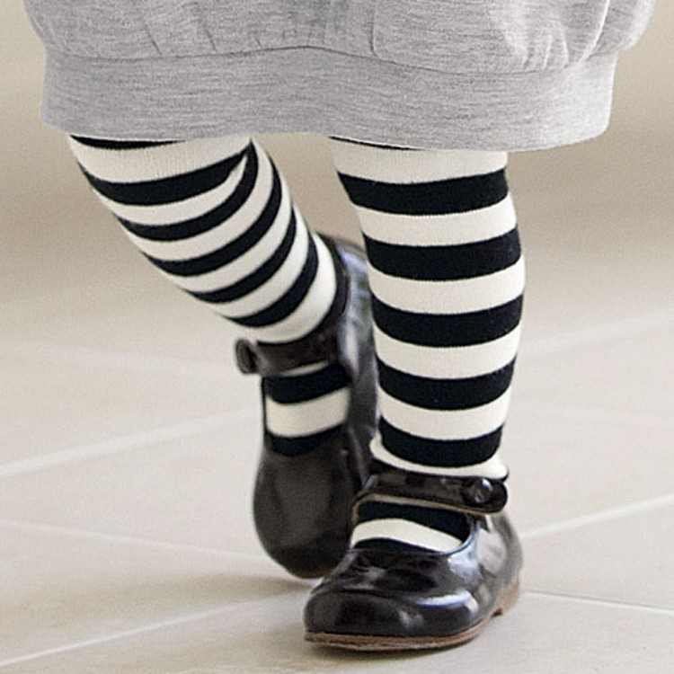 Popular Black and White Striped Leg Warmers-Buy Cheap Black and ...