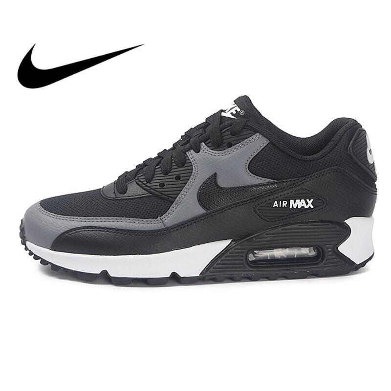 Original NIKE WMNS AIR MAX 90 Women's Running Shoes Sneakers Breathable Nike Shoes Women Low Top Cushioning Comfortable 325213 | Shopping discounts