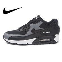 huge discount b7f1c 0eee6 Original WMNS NIKE AIR MAX 90 mujer zapatos para correr zapatillas de  deporte transpirables Nike zapatos de mujer superior bajo .