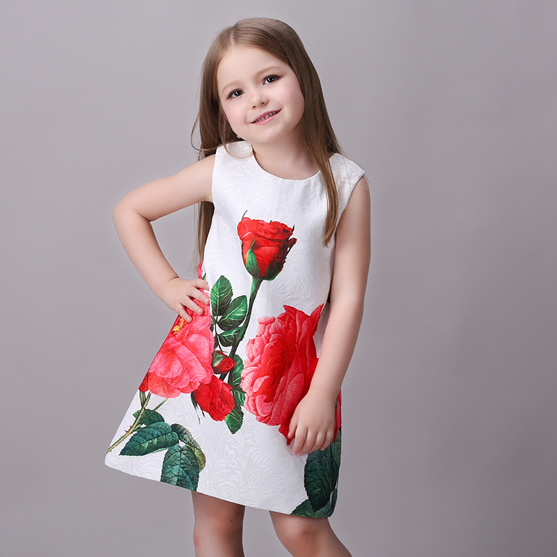 Age 7 To 8 Little Girls Red Monsoon Dress Kids' Clothing, Shoes & Accs Clothing, Shoes & Accessories