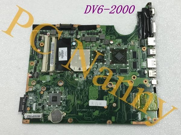 Para HP DV6 DV6-2000 AMD Laptop Motherboard 571187 - 001 DAUT1AMB6E0 S1 não - integrado de boa