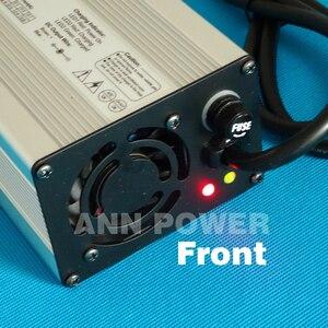 Image 3 - 36 V 4A carregador Saída 42 V 4A carregador caixa de alumínio Usado para 36 V Li ion Battery charging Poder Do Hight Carregador inteligente