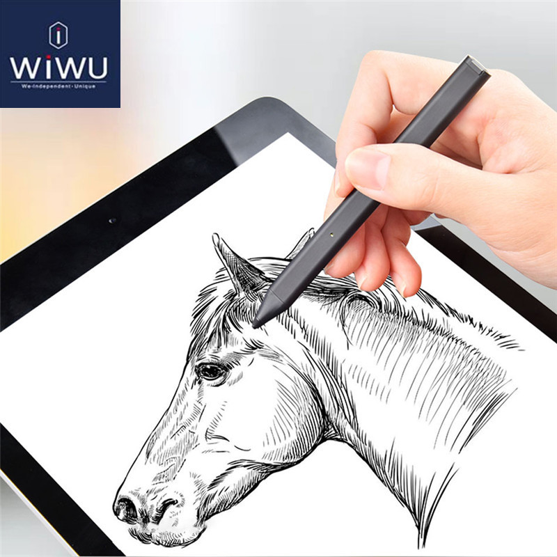 WIWU For Apple Pencil,Tablet Touch Pen For IPad Pro 9.7 10.5 12.9 Stylus Pencil Compatible Mobile Phone Universal Touch Pencil
