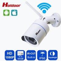WIFI IP Camera 2MP Full HD 1080P Network Infrared Bullet Onvif Outdoor Waterproof Wireless CCTV Camera