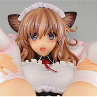 15 CM Sexy Girl Action Figure Japanese Anime Sexy Figure PVC Collection Model Toys Cat Maid Misaki Kurehito Figure for Gift