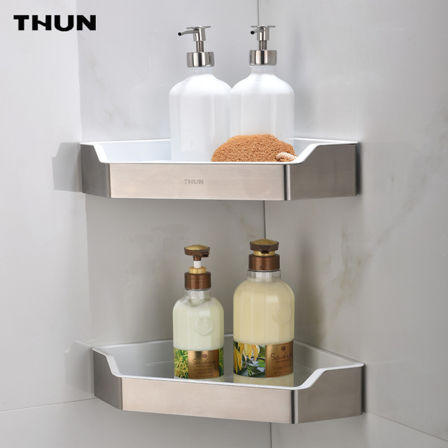 Thun triangolo nell 39 angolo in resina abs mensole bagno for Accessori x il bagno