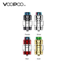 VOOPOO RimFire RTA 5ml/2ml Capacity Tank 30mm Diameter with Adjustable Air-insulation Deck & Resin 810 Drip Tip Top Filling Tank(China)