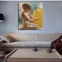 액자 섹시한 여자 번호 DIY 추상 유화 문자 아크릴 캔버스 장식품 벽 예술 사진