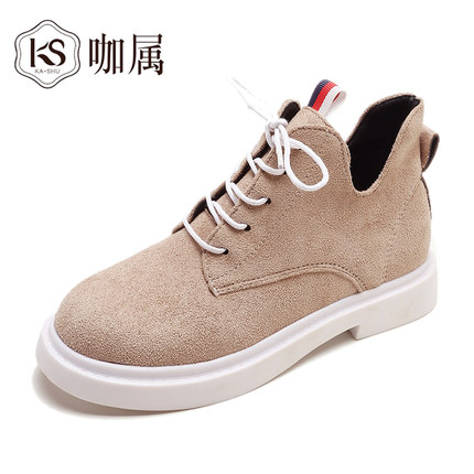 New single casual high-top round ankle boots 56