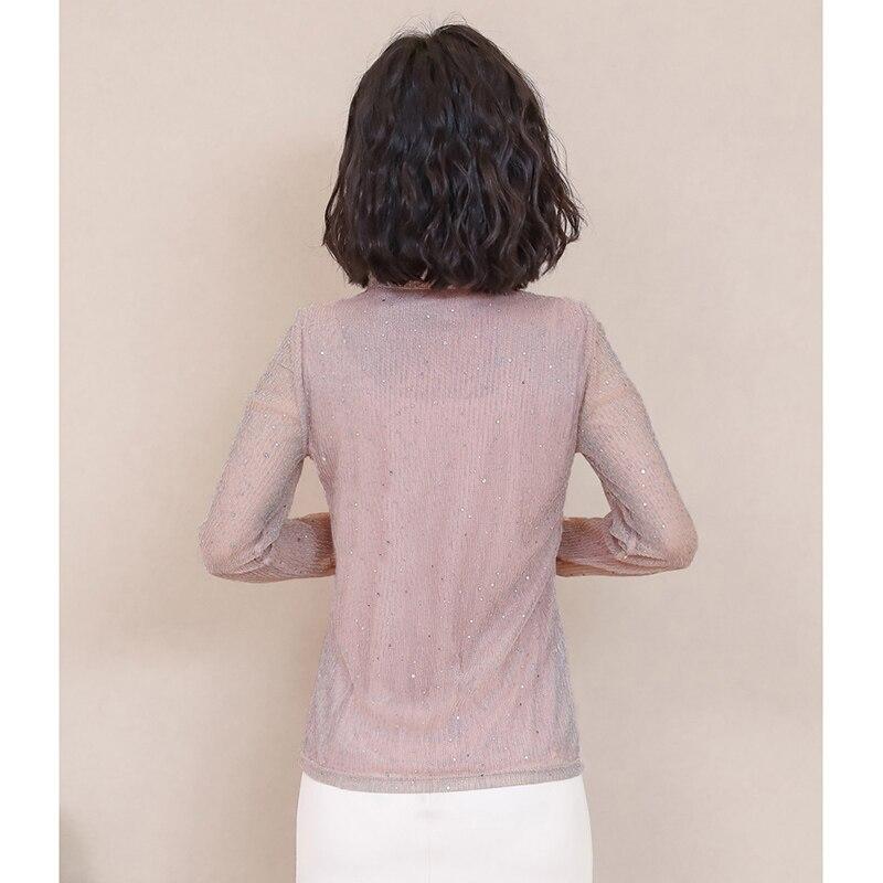Korea Style Women Blouse Shirts 2018 Elegant Ruffles Women Tops Plus Size warm Solid Casual Loose Shirt blusas feminina NW1055 2