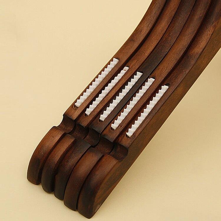 Купить с кэшбэком [Free shipping]   Lady's style Antique Wooden Clothes Hanger,anti-slip,suit hanger (12pieces/ lot)