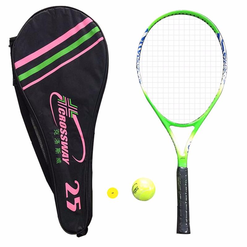 1 Pcs 25 Zoll Kinder Tennis Schläger Training Wettbewerb Tennis Schläger Für Anfänger Tennisschläger Praxis Ausgestattet Mit Tasche