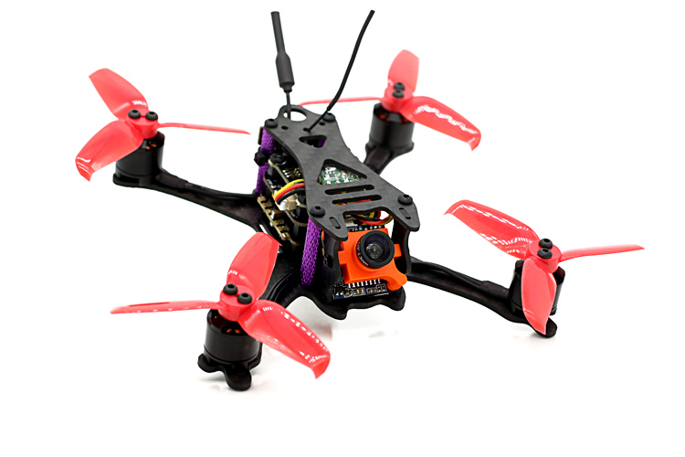 SKYSTARS X120 BOLT Micro Brushless FPV RC Drone F4 FC OSD 25/200mW VTX CCD Camera