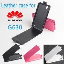Phone case для для Huawei G630 Флип Бизнес Стиль Case Кожного Покрова Shell.