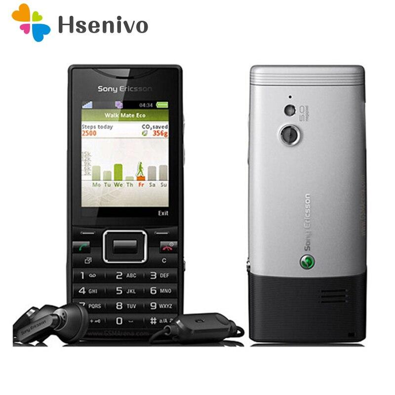 100% J10 Original Sony Ericsson elm j10 3G 5MP Destacável Da Bateria 1000 mAh Telefone Celular Por Atacado Frete grátis
