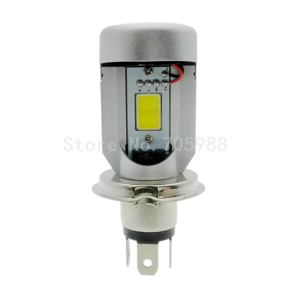 100% Echt Motorfiets LED Koplamp H4 hi lo Lamp HS1 COB Hoofd lamp 20 - Motoraccessoires en onderdelen - Foto 2