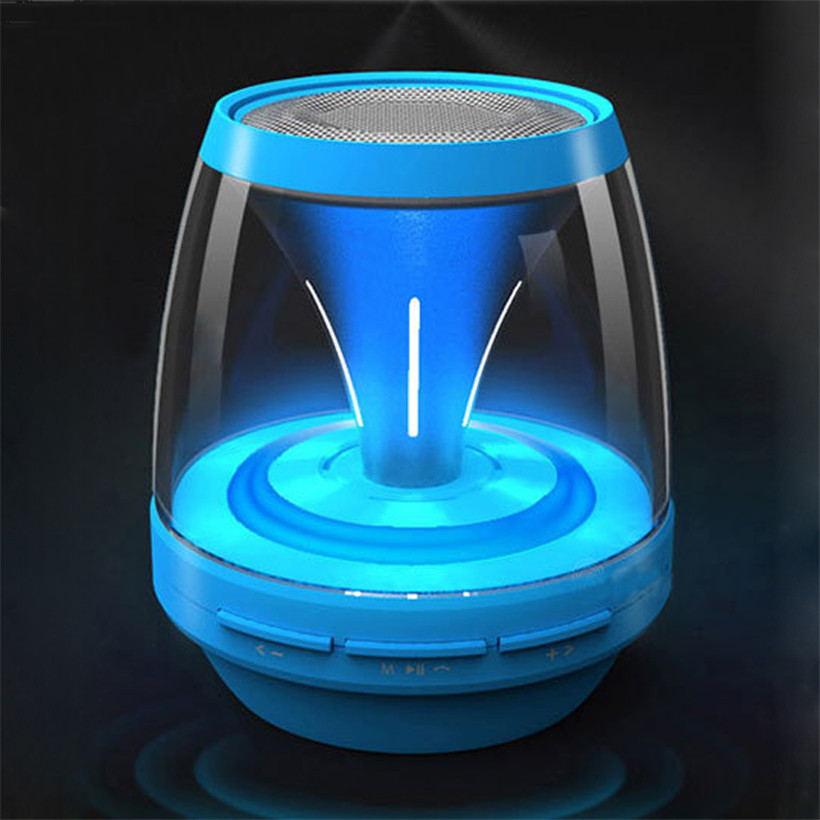 New Portable Subwoofer Wireless Speakers Colorful Light