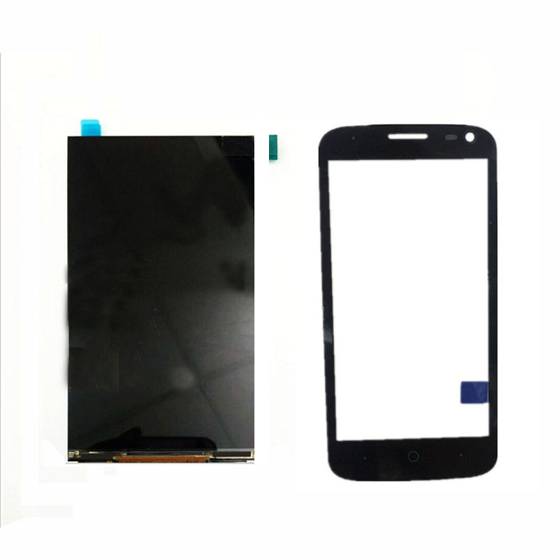 Touch Screen For ZTE Blade Q Lux 4G / 3G Front Glass Digitizer Panel Sensor +LCD Display Replacement