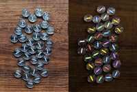 Selbst leucht 25 Jahre DIY Titan Chip 1 5x6mm Tritium Rohr Patch Leuchtende Tritium Gas Lichter Signal lichter EDC Multi Werkzeuge-in Outdoor-Werkzeuge aus Sport und Unterhaltung bei