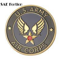 Gold Plated Metal Medal U.S.A Army Air Corps Challenge Commemorative Coins Collectibles BTC515