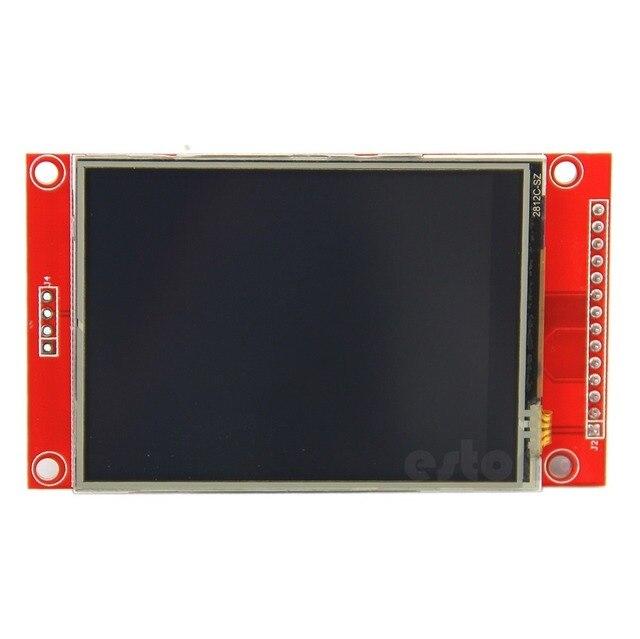 """2.8 """"240x320 SPI TFT ЖК-последовательный порт Модуль + PCB адаптер Micro SD ILI9341 5 В/ 3.3 В Z09 Прямая поставка"""