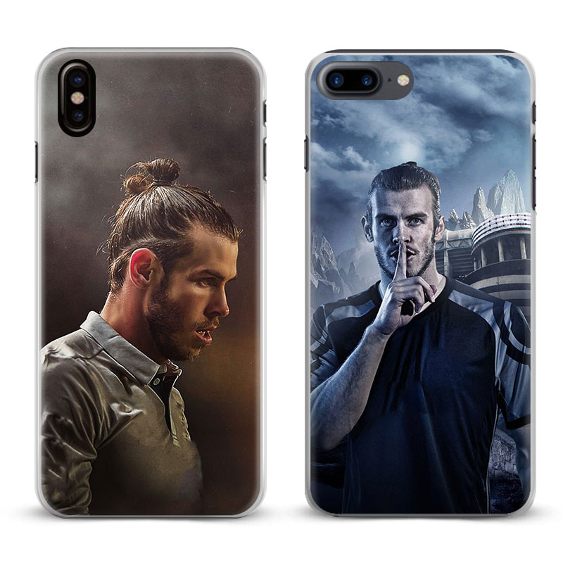 Gareth Bale Coque Cool Fashion Cover Shell For Apple iPhone 4 4s 5 5s Se 6 6Plus 6s 6sPlus 7 Plus 8 8Plus X Phone Case