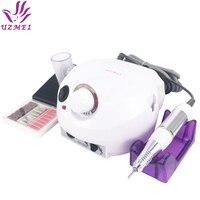 Professional White 30 000 Rpm Electric Nail Drill File Manicure Kit 220V Eu Plug Nail Tools