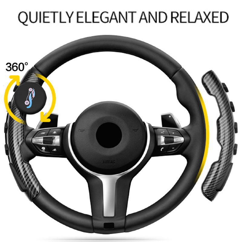 Car Steering Wheel Knob Power Handle Concept Safe Spinner Knob