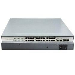 Inteligentny przełącznik zarządzalny PoE 24 porty PoE 100M + 2 1000M RJ45 + 2 TP/SFP Combo