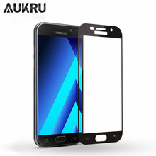 Full Tempered Glass For Samsung Galaxy A5 A3 A7 J5 J3 J7 Pro 2017 Protective Glass For Samsung A8 A6 Plus 2018 Screen Protector