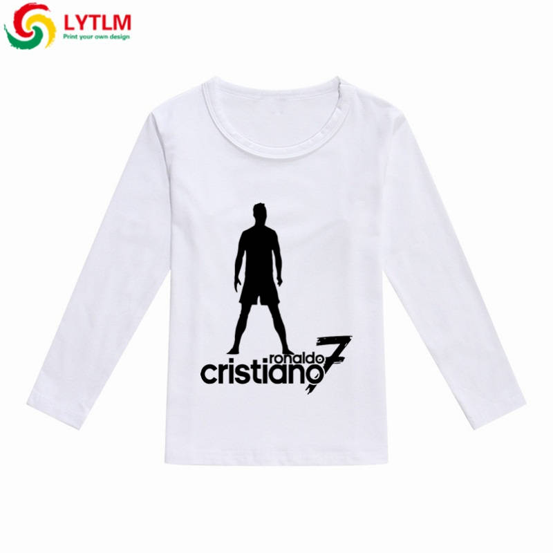 finest selection 79e0f 45929 LYTLM Ronaldo Winter 2019 Baby Boys Tops Long Sleeve Brand Children T  Shirts Boys Clothes Kids Tee Shirt Fille Baby Boy Tshirt