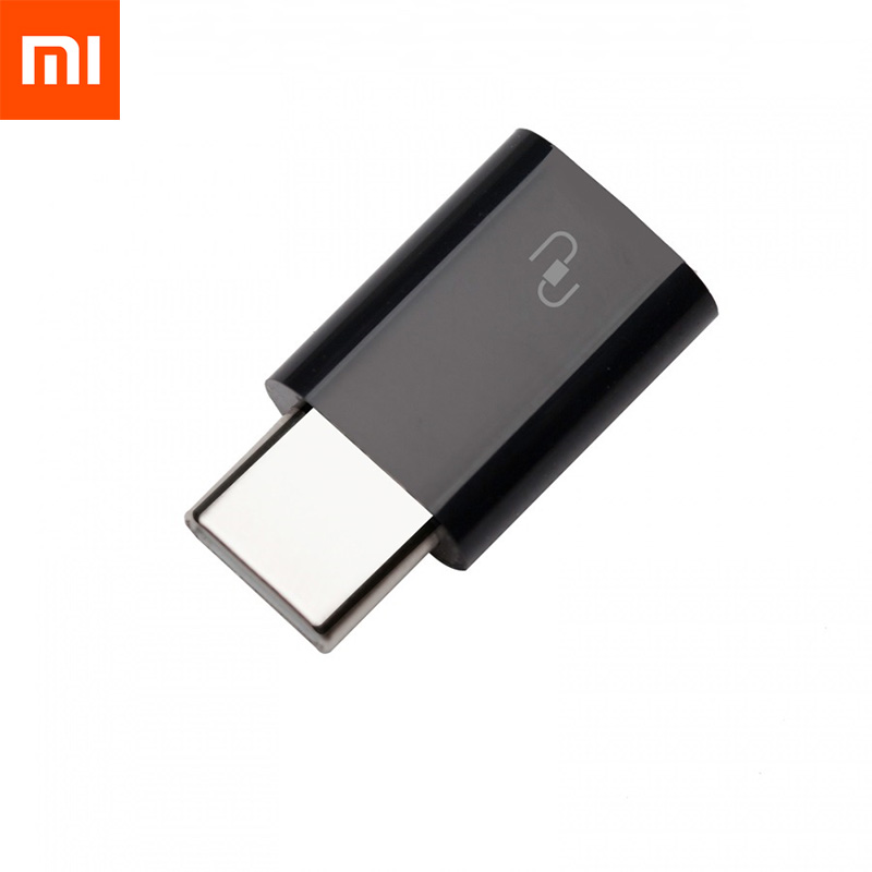 Original Xiaomi Type C Adapter Micro USB to Type C Type C Adapter Sync Charge Micro To TypeC Connector For Xiaomi 4S 4c 5 Type C-in Phone Adapters & Converters from Cellphones & Telecommunications