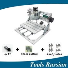 Только Россия! CNC 2418 ER11, мини ЧПУ для лазерной гравировки, pcb Фрезерные станки, дерево Всё для резьбы, ЧПУ, cnc2418, игрушки