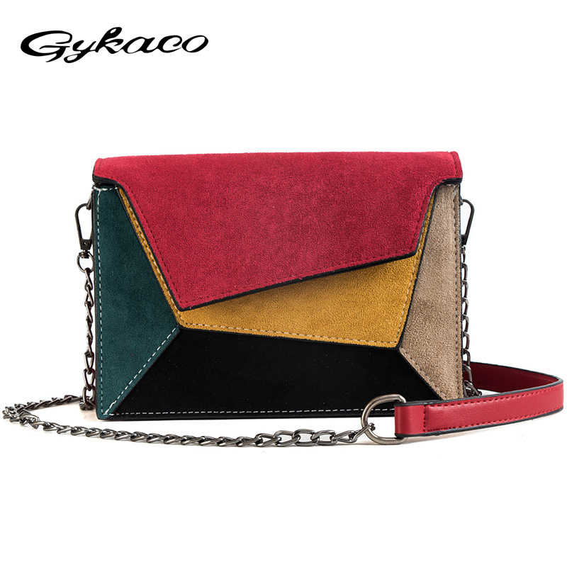 3b8737d809aa1 Gykaeo 2018 Winter Small Bag Girl Woman Luxury Handbags Women Bags Designer  Camera Shoulder Bags Brand