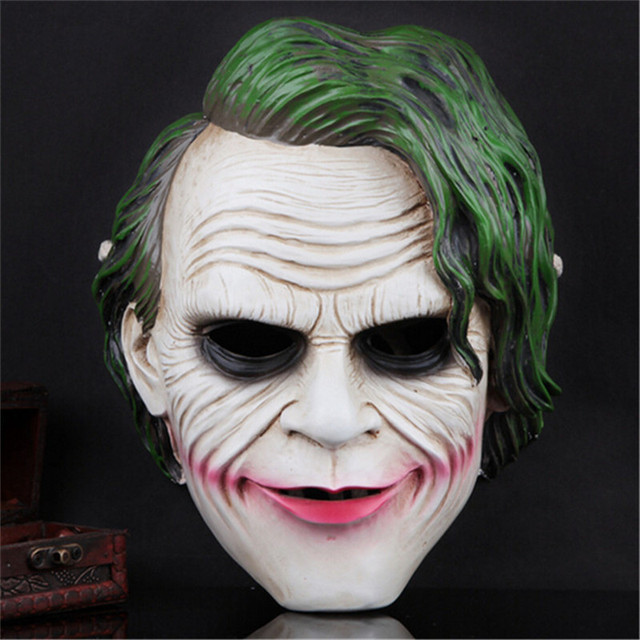 New Resin Full Face Scary Halloween Mask Horror Clown Ghost Party ...