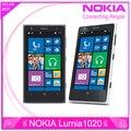 Оригинальный телефон Nokia Lumia 1020 окна телефон 2 ГБ 32 ГБ камеры 41MP GPS Wifi 4.5 дюймов экран открыл Lumia 1020 мобильных телефонов