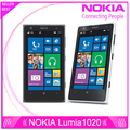Original Phone Nokia lumia 1020 Windows phone 2GB 32GB Camera 41MP GPS Wifi 4.5 inch Screen Unlocked Lumia 1020 mobile phone
