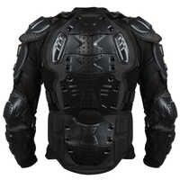 Hommes complet armure de corps moto veste Motorcross course Pit vélo poitrine équipement de protection épaule main Joint S-XXXL hiver chaud