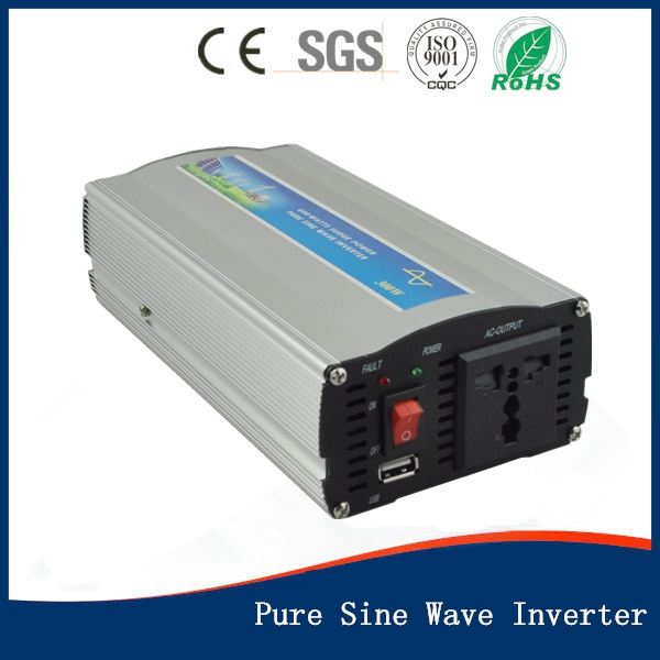 ФОТО 300W 12VDC 220VAC 50hz Surge Power 600W Pure Sine Wave PV Inverter Off Grid Solar& Wind Power Inverter PV Inverter